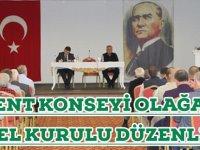 Akçaabat Kent Konseyi Olağan Genel Kurulu Yapıldı