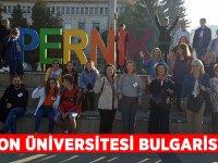 Trabzon Üniversitesi Güzel Sanatlar Fakültesi Bulgaristan'da.