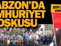 Trabzon'da Cumhuriyet şöleni