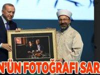 Akgün'ün fotoğrafı Saray'da