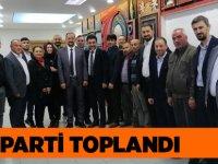 AK Parti Akçaabat'ta Olağan Yönetim Toplantısı Yapıldı