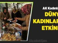 AK Kadınlar Pazarcı Kadınlara Kahvaltı