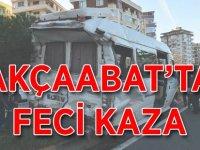 Akçaabat'ta Feci Kaza