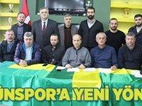 Tütünspor'a yeni yönetim