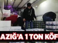Elazığ'a 1 Ton Akçaabat Köftesi