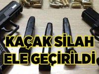 Akçaabat'ta Silah kaçakçılığı