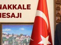 Başkan Ekim'den Çanakkale Mesajı