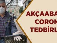 Akçaabat'ta Corona Tedbirleri