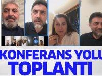 AK Parti'denTelekonferans İle Toplantı