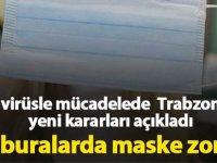 Artık Buralarda Maske Zorunlu