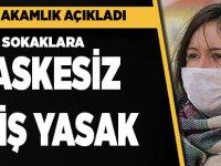 Akçaabat'ta Birçok Sokağa Maskesiz Giriş Yasaklandı