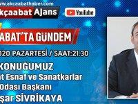 Konuğumuz Esnaf  Başkanı Yaşar Sivkiya