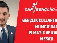 CHP Gençlik Kolları Başkanı Mesajı