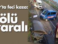 Trafik Kazasında  Kişi Öldü