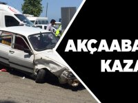 Akçaabat'ta Trafik Kazası 3 Yaralı