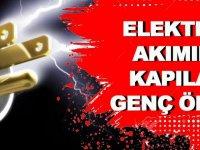 Akçaabat'ta  Genç Elektrik  Akımına Kapıldı