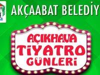 Akçaabat'ta  Tiyatro Günleri Başlıyor