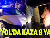 Dörtyol'da Kaza ;8 Yaralı