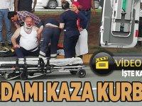 Akçaabat'ta Feci Kazada Can Verdi,