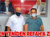 Yeniden Refah CHP'yi misafir etti.
