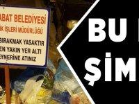 Çöpler Konteynere Atılmayınca