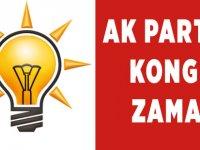 AK Parti'de Kongre Zamanı