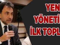 AK Parti Yönetimi İlk Toplantısını Yaptı