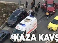 Söğütlü'de Kaza Kavşağı