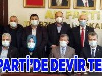 AK Parti'de Görev Devir Teslim