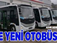 İşte Yeni otobüsler