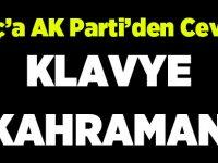 """AK Parti'den Cevap """"Klavye Kahramanı"""""""