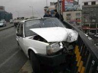 Trabzonda Kaza 3 Yaralı