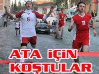 Akçaabatta Atatürk Koşusu