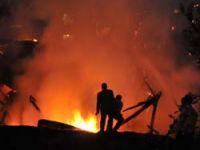 Akçaabatta Yangın