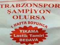 Trabzonspor Şampiyon Olursa