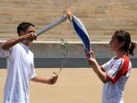 Olimpiyat Meşalesi Atina'dan Alındı