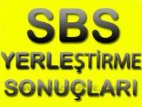 SBS Tercihleri Açıklandı