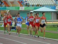 Atletizmde İlk Madalyalar Verildi