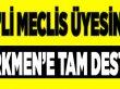 MHP'li Üyeden Türkmen'e Tam Destek