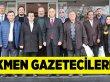 Türkmen, Basınla Buluştu