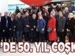 MHP'de 50. Yıl Coşkusu