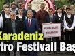 20. Uluslararası Karadeniz Tiyatro Festivali Başladı