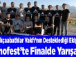 Teknofest'te Akçaabat ekibi finale kaldı.