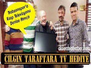 Trabzonspor'a kızdı televizyonu denize attı
