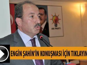 Engin Şahin'in AK Parti'de yaptığı Müracaat konuşması